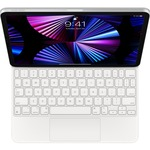 Apple Magic Keyboard/Cover Case for 27.9 cm 11And#34; Apple iPad Pro 3rd Generation, iPad Pro 2nd Generation, iPad Pro, iPad Air 4th Generation Tablet - White