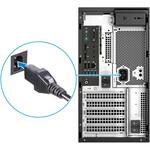 Dell Precision 3000 3630 Workstation - Xeon E-2174G - 8 GB RAM - 256 GB SSD - Tower - Black - Windows 10 Pro 64-bitNVIDIA Quadro P620 2 GB Graphics - DVD-Writer - Se