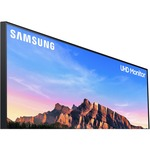 Samsung U28R550UQU 28And#34; 4K UHD Curved Screen WLED LCD Monitor - 16:9 - Dark Blue Gray