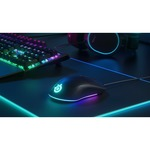 SteelSeries Rival 3 Gaming Mouse - USB - Optical - 6 Buttons - Black