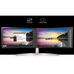LG Ultrawide 49WL95C-WE 49And#34; Dual Quad HD DQHD Curved Screen LED LCD Monitor - 32:9 - White