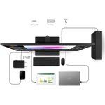 LG 43UN700-B 42.5And#34; 4K UHD LCD Monitor - 16:9 - Black