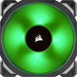 ML120 PRO RGB LED 120MM PWM Premium Magnetic Levitation Fan — 3 Fan Pack with Lighting Node PRO
