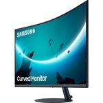 Samsung C32T550FDU 32And#34; Full HD Curved Screen LCD Monitor - 16:9 - Black