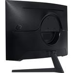 Samsung Odyssey G5 C32G55TQWU 32And#34; WQHD Curved Screen Gaming LCD Monitor - 16:9 - Black