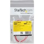 StarTech.com 18in Latching SATA Cable - 1 x Male SATA - 1 x Male SATA