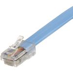 StarTech.com 6 ft Cisco Console Rollover Cable - RJ45 M/M - 1 x RJ-45 Male Network - Blue