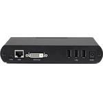 StarTech.com USB DVI over Cat 5e / Cat 6 KVM Console Extender w/ 1920x1200 Uncompressed Video - 330ft 100m