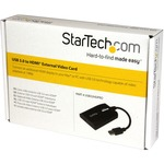 StarTech.com USB 3.0 to HDMI External Multi Monitor Video Graphics Adapter for Mac Andamp; PC