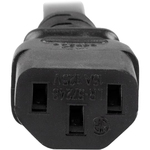 StarTech.com 3 ft Heavy Duty 14 AWG Computer Power Cord - C13 to C20 - For Computer, Server, PDU - Black