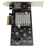 StarTech.com 10G Network Card - NBASE-T - RJ45 Port - Intel X550 chipset - Ethernet Card - Network Adapter - Intel NIC Card - Upgrade your server or workstation to 1