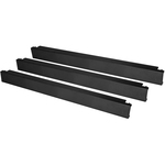 StarTech.com 1U Blanking Panels - Tool Less Blank Rack Panel - Blank Rack Panels - Filler Panels - 10 Pack - Plastic - Black - 1U Rack Height - 10 Pack - 33 mm Heigh