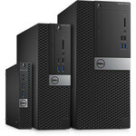Dell OptiPlex 3000 3060 Desktop Computer - Core i5 i5-8500 - 8 GB RAM - 128 GB SSD - Small Form Factor - Black