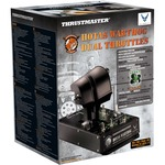 Thrustmaster HOTAS WarthogTM Dual Throttles  - Cable - USB - PC - Black