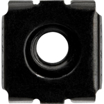 StarTech.com Nut - TAA Compliant - Cage Nut - Steel - Black - 1Pack