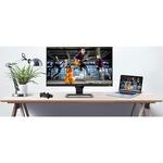 BenQ Entertainment EW2480 23.8And#34; Full HD LED LCD Monitor - 16:9 - Black, Metallic Grey