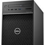Dell Precision 3000 3630 Workstation - Xeon E-2274G - 16 GB RAM - 256 GB SSD - Mini-tower - Black - Windows 10 Pro for WorkstationsNVIDIA Quadro P2200 5 GB Graphics