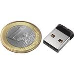 SanDisk Cruzer Fit 16 GB USB 2.0 Type A Flash Drive