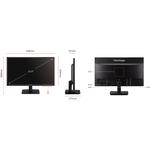 Viewsonic VA2405-H  23.6And#34; Full HD LED LCD Monitor - 16:9 - Black