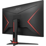 AOC C27G2ZE 27And#34; Full HD Curved Screen WLED Gaming LCD Monitor - 16:9 - Black Red