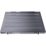 StarTech.com 1U Adjustable Depth Vented Rack Mount Shelf - Heavy Duty Fixed Server Rack Cabinet Shelf