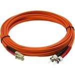 StarTech.com 5m Multimode 50/125 Duplex Fiber Patch Cable LC - ST - 2x LC Male Network - 2x ST Male Network