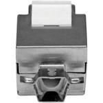 StarTech.com Shielded Cat 6a Keystone Jack - RJ45 Ethernet Cat6a Wall Jack White