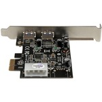 StarTech.com 2 Port PCIE SuperSpeed USB 3.0 Card Adapter with UASP