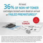 HP 654A Toner Cartridge - Cyan
