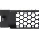 StarTech.com Blanking Panel - Steel, Plastic - Black - 1U Rack Height - 1 Pack - 22.9mm H, 43.2mm W, 482.6mm D