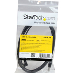 StarTech.com 2m 6 ft Right Angle Micro-USB Charge and Sync Cable M/M - USB 2.0 A to Micro USB
