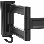 StarTech.com Wall Mount Monitor Arm - Dual Swivel - Supports 13 to 34 Monitors - VESA Mount - TV Wall Mount - TV Mount - 1 Displays Supported68.6 cm Screen Sup
