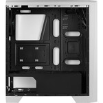 AeroCool Cylon Computer Case - ATX, Micro ATX, Mini ITX Motherboard Supported - Mid-tower - SPCC, Tempered Glass, Acrylonitrile Butadiene Styrene ABS - White - 5 x