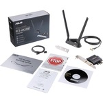 Asus PCE-AX58BT IEEE 802.11ax Wi-Fi 6  Bluetooth 5.0 - Wi-Fi/Bluetooth Combo Adapter for Desktop Computer