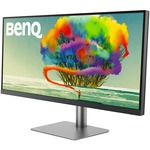 BenQ Designer PD3420Q 34And#34; WQHD WLED LCD Monitor - 21:9 - Dark Grey