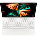 Apple Magic Keyboard/Cover Case for 32.8 cm 12.9And#34; Apple iPad Pro 5th Generation, iPad Pro 4th Generation, iPad Pro 3rd Generation Tablet - White