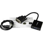 StarTech.com DVI-D to VGA Active Adapter Converter Cable - 1920x1200 - 1 x DVI-D Male Digital Video