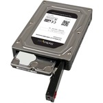 StarTech.com 2.5And#34; to 3.5And#34; SATA Aluminum Hard Drive Adapter Enclosure with SSD/HDD Height up to 12.5mm - 1 x Total Bay