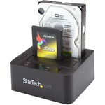 StarTech.com USB 3.0 / eSATA Dual Hard Drive Docking Station with UASP for 2.5/3.5in SATA SSD / HDD