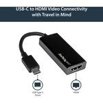 StarTech.com Black USB-C to HDMI Adapter
