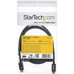 StarTech.com 1m Thunderbolt 3 20Gbps USB-C Cable - Thunderbolt, USB, and DisplayPort Compatible
