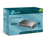 TP-LINK EasySmart TL-SG108PE 8 Ports Manageable Ethernet Switch