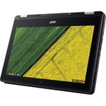 Acer Spin 11 R751T R751T-C6LD 29.5 cm 11.6And#34; Touchscreen 2 in 1 Chromebook - HD - 1366 x 768 - Intel Celeron N3350 Dual-core 2 Core 1.10 GHz - 4 GB RAM - 32 GB Fl