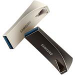 Samsung BAR Plus 32 GB USB 3.1 Type A Flash Drive - Champagne Silver - 1
