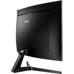 Samsung C32JG50 31.5And#34; WQHD Curved Screen WLED LCD Monitor - 16:9 - Dark Silver