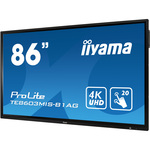 iiyama Prolite TE8603MIS-B1AG All-in-One Computer - Cortex A73 - 4 GB RAM - 217.4 cm 85.6And#34; 3840 x 2160 Touchscreen Display - Desktop - Matte Black - ARM Mali G51 -