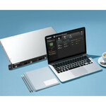 QNAP TR-004U 4 x Total Bays DAS Storage System Rack-mountable - Serial ATA/300 Controller - RAID Supported - 0, 1, 5, 10, JBOD RAID Levels