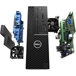 Dell Precision 3000 3431 Workstation - Xeon E-2224G - 16 GB RAM - 256 GB SSD - Small Form Factor - Windows 10 Pro for WorkstationsIntel UHD Graphics 630 - DVD-Writer