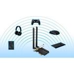 TP-Link Archer TX50E IEEE 802.11ax Bluetooth 5.0 - Wi-Fi/Bluetooth Combo Adapter for Desktop Computer - PCI Express - 2.93 Gbit/s - 2.40 GHz ISM - 5 GHz UNII - Plug-
