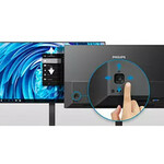 Philips 345E2AE 34And#34; UW-QHD WLED Gaming LCD Monitor - 21:9 - Textured Black